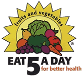 The 5 A Day for Better Health Program Logo