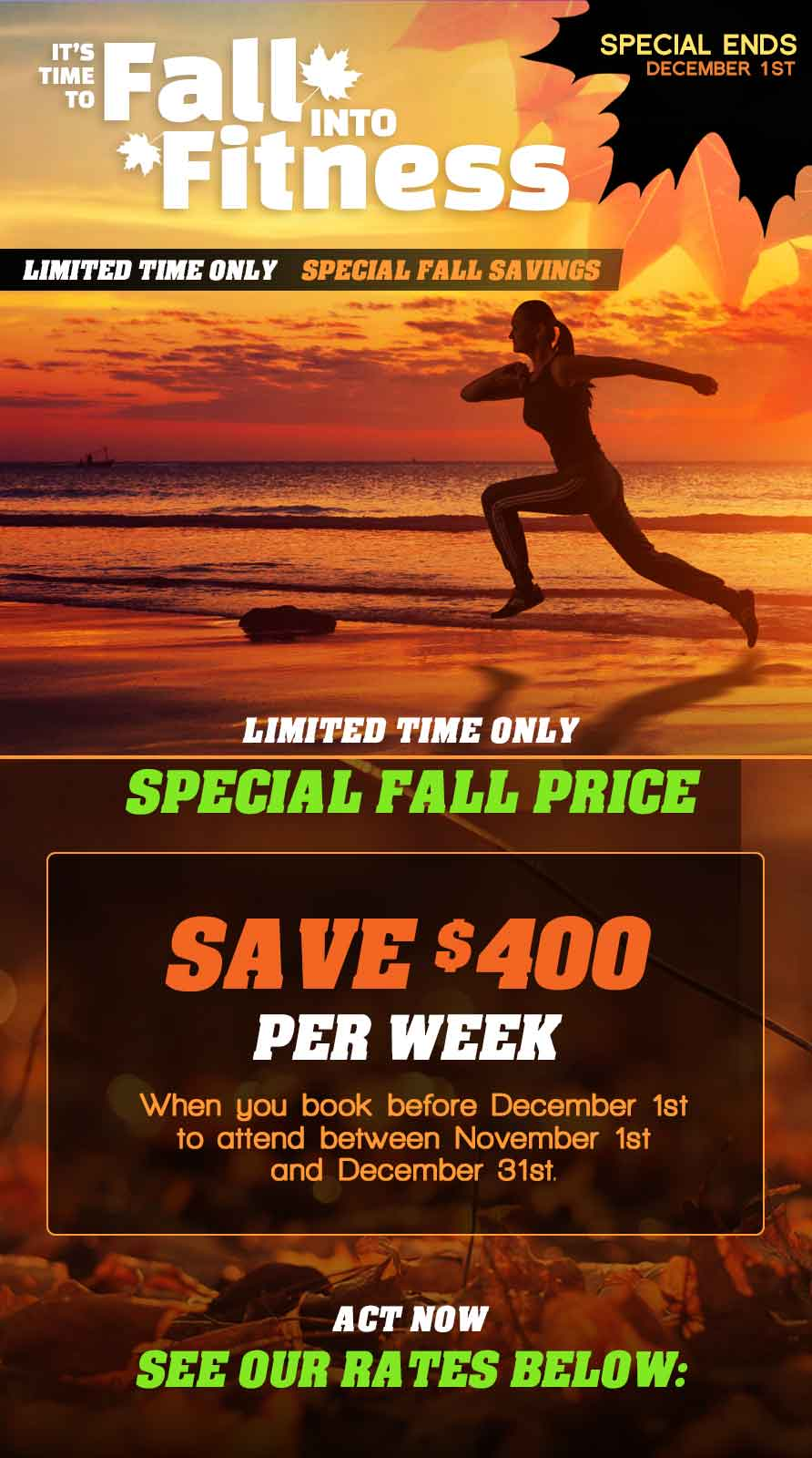 Affordable Weight Loss Camp just got even better! Save today before it\'s gone!
