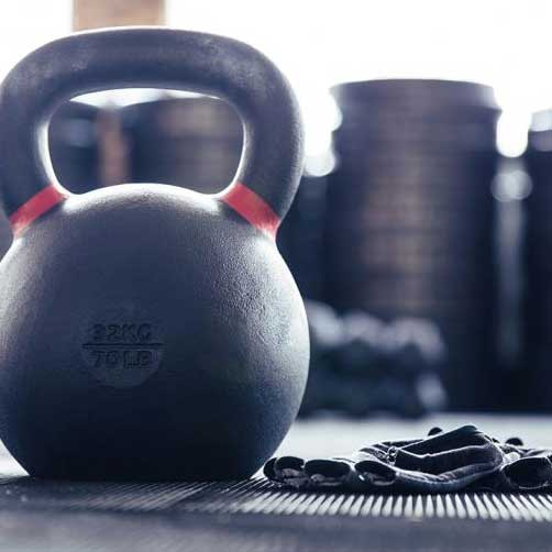 Weights and kettlebells we use at Weight Crafters
