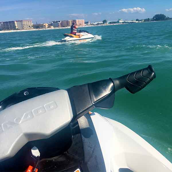 On the weekends, you may opt to rent a jet-ski at John's Pass, or engage in any one of dozens of exciting activities nearby.