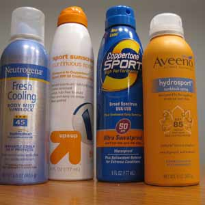 What to bring: Sunblock