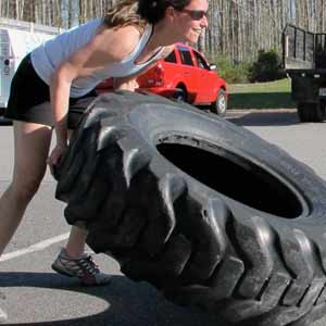 Crossfit techniques are just one part of our fitness boot camp program!