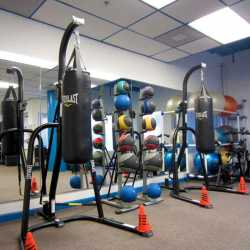 A photo of our newly rennovated adult weight loss camp gym at Weight Crafters.