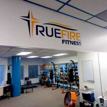 A photo of the newly rennovated fitness center at Weight Crafters.
